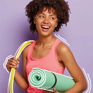 Coletor menstrual é aliado para praticar exercícios físicos durante a menstruação